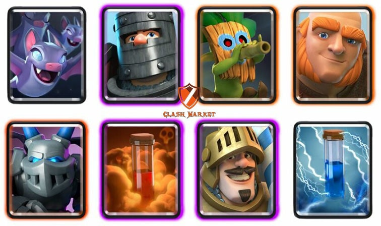 free clash royale account