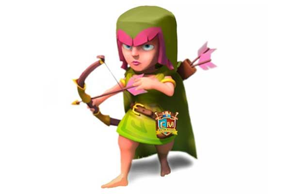 clash of clans characters drawing