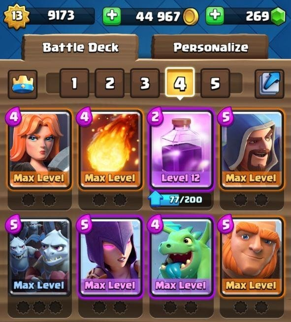max clash royale account for sale
